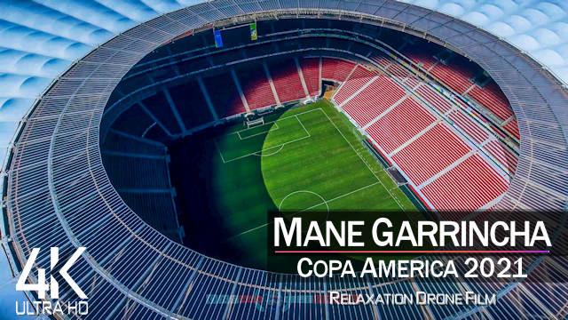 【4K】Estadio Mane Garrincha from Above | COPA AMERICA 2021 Brazil | Cinematic Wolf™ Drone Film