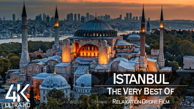 【4K】Istanbul from Above | TURKEY 2021 | Cinematic Wolf Aerial™ Drone Film