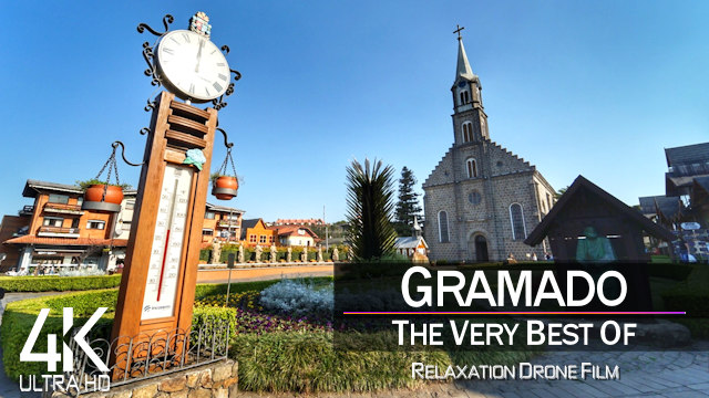 【4K】Gramado & Canela from Above | BRAZIL 2021 |