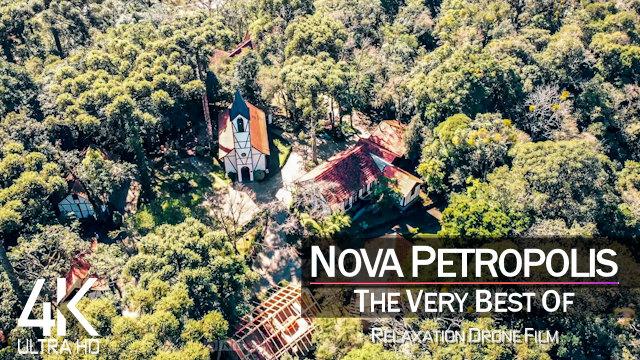 【4K】Nova Petropolis from Above | BRAZIL 2021 |