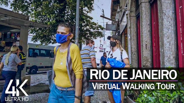 【4K】VIRTUAL WALKING TOUR: «Rio de Janeiro - Brazil 2021» | Binaural Sounds 2021-04-29 UltraHD