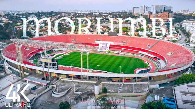 【4K】Estadio do Morumbi from Above | BRAZIL 2021 | São Paulo FC | Cinematic Wolf Drone™ Film