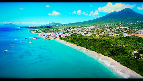 Drone Picture Saint Kitts and Nevis (Saint Kitts and Nevis)